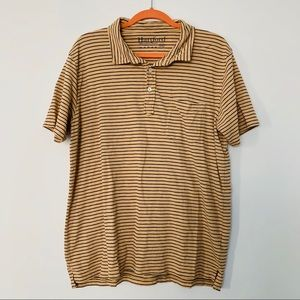 Hartford Men's Striped Polo Shirt